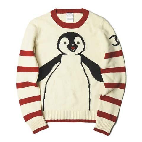 シャネルヴィンテージ ペンギンニット セーター