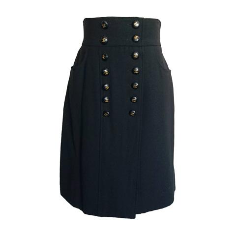 シャネルヴィンテージ ココボタンスカート