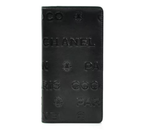 CHANEL シャネル アンリミテッド 二つ折り長財布