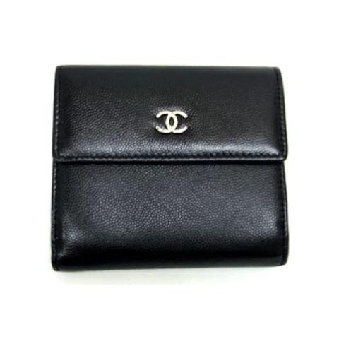 CHANEL シャネル セブルガ Wホック財布 2つ折り財布